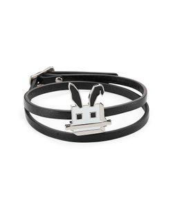 Mcq Alexander Mcqueen | Embellished Leather Bracelet Gr. One Size