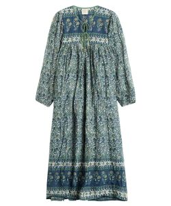 Blue Hippy | Printed Cotton Dress Gr. One Size