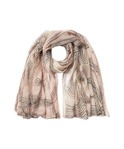 Faliero Sarti | Printed Cotton Scarf With Silk Gr. One Size