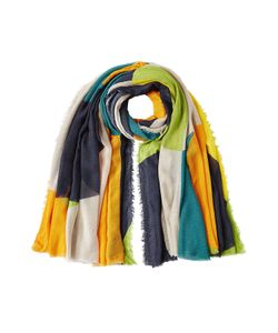 Faliero Sarti | Fringed Scarf With Cashmere Gr. One Size