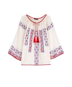 KAS | Pisco Embroidered Cotton Blouse Gr. S