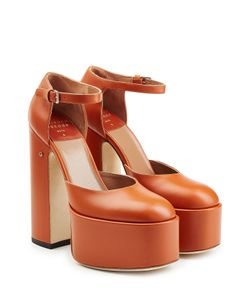 Laurence Dacade | Lila Platform Leather Pumps Gr. It 36