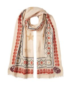 Zadig & Voltaire | Printed Scarf With Cotton Gr. One