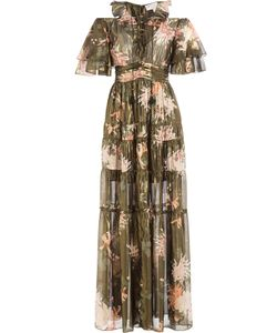 Rachel Zoe | Silk Cecily Kiku Print Dress Gr. Us 6