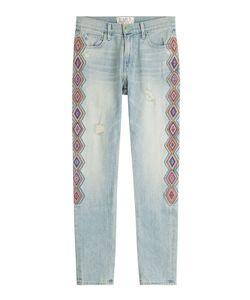 Sandrine  Rose | Embroidered Jeans Gr. 30