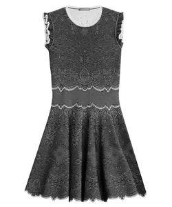 Alexander McQueen | Knit Cocktail Mini-Dress Gr. S