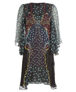 Mary Katrantzou | Printed Silk Dress Gr. Uk 12