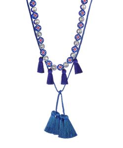 Shourouk | Sautoir Mini Tassel Necklace With Crystals Gr. One Size