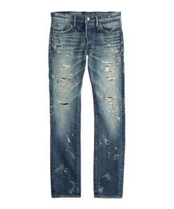 Fabric-Brand & Co | Distressed Jeans Gr. 32