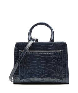 Victoria Beckham | Snake-Embossed Patent Leather Tote Gr. One Size