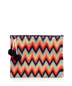 Sophie Anderson | Woven Cotton Clutch Gr. One Size