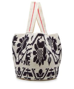 Sophie Anderson | Woven Cotton Tote Gr. One Size