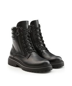 Moncler | Leather Ankle Boots Gr. Eu 40