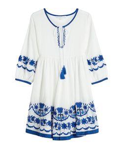 Christophe Sauvat | Embroidered Cotton Mini Dress Gr. S
