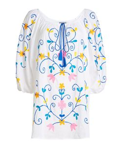 Juliet Dunn | Embroidered Cotton Blouse Gr. 3