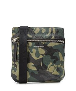 Alexander McQueen | Printed Leather Satchel Gr. One Size