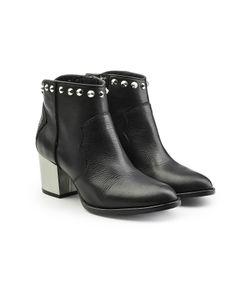 Zadig & Voltaire | Studded Leather Ankle Boots Gr. Eu 40