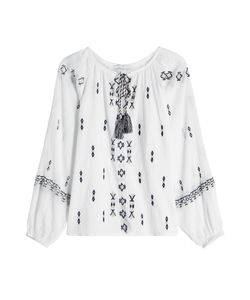 Christophe Sauvat | Embroidered Cotton Tunic Gr. S