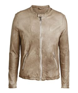Giorgio Brato | Collarless Leather Jacket Gr. Eu 56