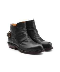 Fiorentini+Baker | Leather Ankle Boots With Buckles Gr. It 40