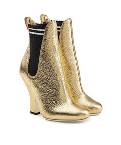 Fendi | Leather Ankle Boots Gr. It 38