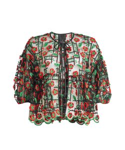 Anna Sui | Embroidered Blouse Gr. Xs