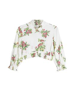 Emilia Wickstead | Cropped Top With Print Gr. Uk 8