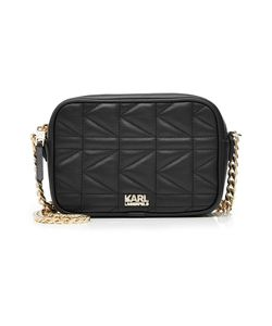 Karl Lagerfeld | Quilted Leather Shoulder Bag Gr. One Size