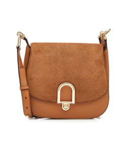 Michael Michael Kors | Suede And Leather Shoulder Bag Gr. One Size