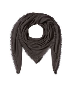 Faliero Sarti | Embroidered Scarf With Cashmere Gr. One Size
