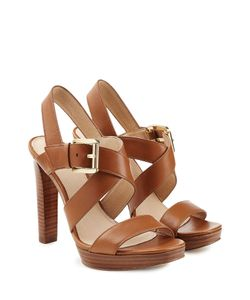 Michael Michael Kors | Leather Platform Sandals Gr. Us 8