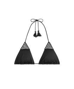 Eberjey   Sacred Stitch Devi Bikini Top Gr. M