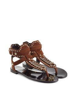 Balmain | Embellished Suede Sandals Gr. Fr 38