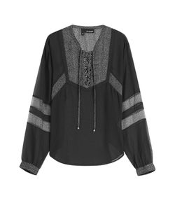 The Kooples | Blouse With Sheer Panels Gr. M