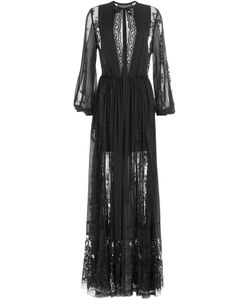 Elie Saab | Floor Length Dress With Silk And Lace Gr. Fr 36