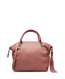 Henry Beguelin | Woven Leather Tote Gr. One Size