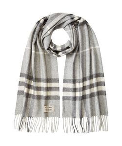 Burberry | Giant Icon Checked Cashmere Scarf Gr. One Size