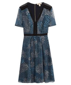 Burberry Brit | Printed Silk Dress Gr. Uk 8