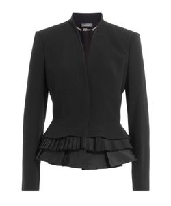 Alexander McQueen | Blazer With Pleated Peplum Hem Gr. It 40