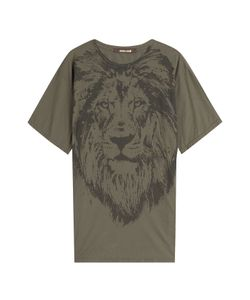 Roberto Cavalli | Printed Cotton T-Shirt Gr. It 38