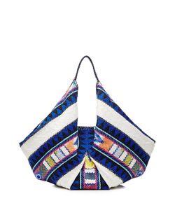 Christophe Sauvat | Embroidered Fabric Tote Gr. One Size