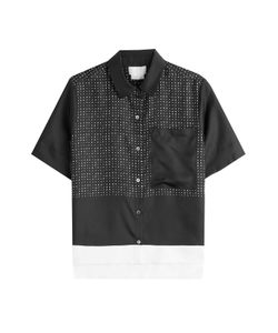 DKNY | Printed Silk Shirt Gr. M