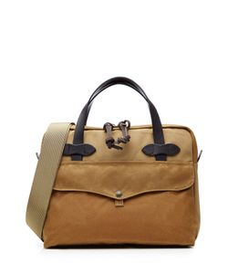 Filson | Padded Tablet Briefcase With Leather Gr. One Size