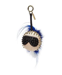 Fendi | Punkarlito Key Chain With Fur Gr. One Size