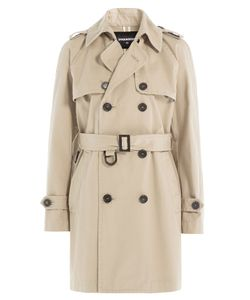 Dsquared2 | Cotton Trench Coat Gr. It 38