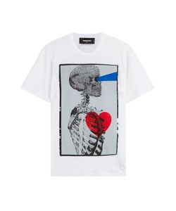 Dsquared2 | Cotton T-Shirt With Skeleton Print Gr. M