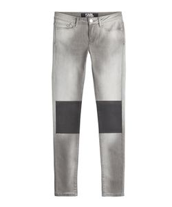Karl Lagerfeld | Skinny Jeans With Coated Knees Gr. 25