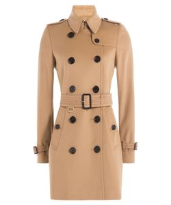 Burberry London | Kensington Wool Trench Coat With Cashmere Gr. Uk 8