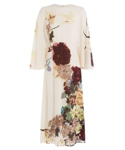 Valentino | Printed Silk Dress Gr. It 38