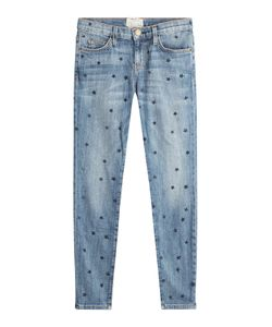 Current/Elliott | Star Printed Skinny Jeans Gr. 25